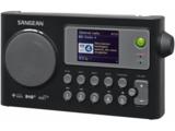 afbeelding van de Sangean WFR27C zwart tafelradio