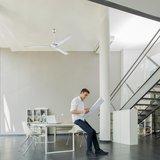 Westinghouse Industrial grijs plafondventilator 142 cm_