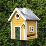Wildlife Garden Yellow Cottage vogelhuis