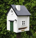 Wildlife Garden White Cottage vogelhuis