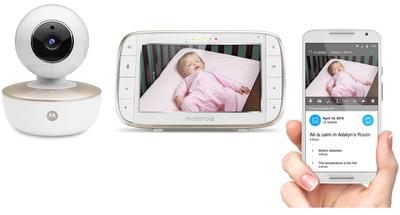 Motorola MBP855CONNECT babyfoon met camera en Wi-Fi