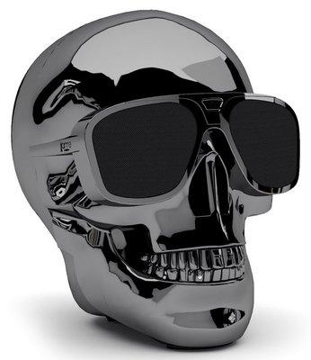 Jarre AeroSkull XS+ chrome black bluetooth luidspreker
