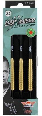 Bull's Max Hopp brass steeltip dartpijlen