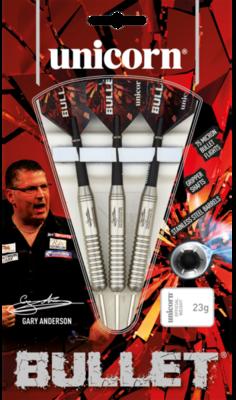 Unicorn Bullet Phase 2 Gary Anderson steeltip dartpijlen