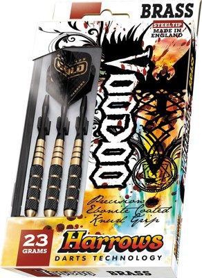 Harrows Voodoo Ebonite steeltip dartpijlen