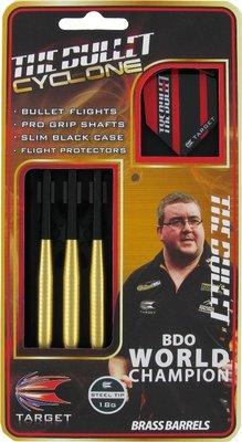 Target Stephen Bunting Cyclone steeltip dartpijlen