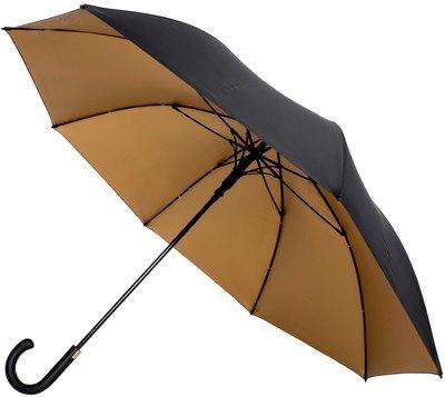 Falcone Automatic luxe windproof golfparaplu zwart met goud