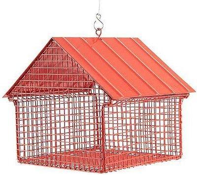 Wildlife Garden rood hangend pinda voederhuis