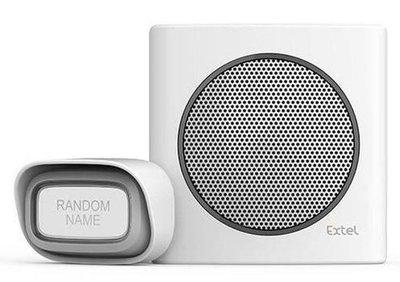 Extel diBi Flash soft white draadloze deurbel