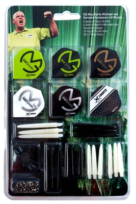 XQ-Max Michael van Gerwen accessoire set