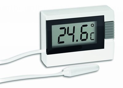 TFA Cable white thermometer