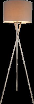 Globo Gustav grey vloerlamp 160 cm