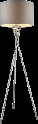 Globo Gustav mat grey vloerlamp 160 cm