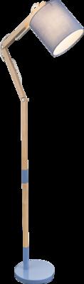 Globo Mattis blue vloerlamp 172 cm