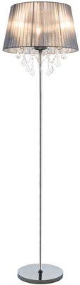 Globo Lani silver vloerlamp 160 cm
