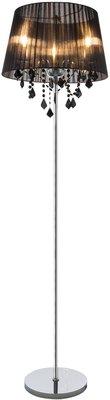 Globo Lani black vloerlamp 160 cm