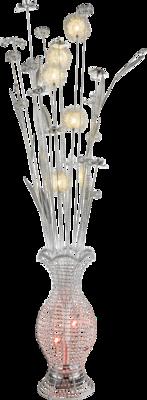Globo Flower Vase vloerlamp 148 cm