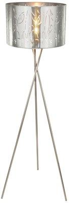 Globo Taxos silver vloerlamp 160 cm