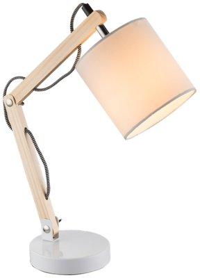 Globo Mattis white tafellamp