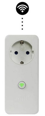 Mill WiFi Socket met temperatuursensor