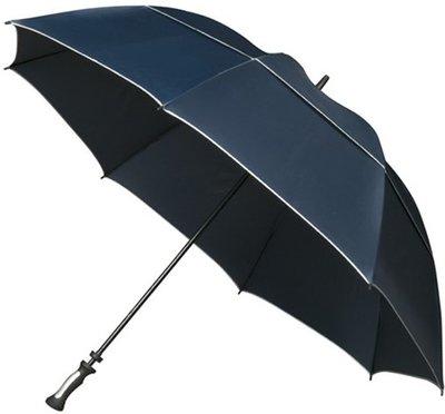 Falcone XXL Storm windproof golfparaplu donkerblauw