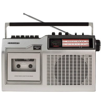 Crosley CT200 radio met cassette