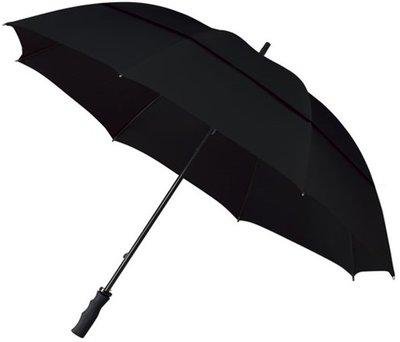 Falcone windproof eco golfparaplu zwart