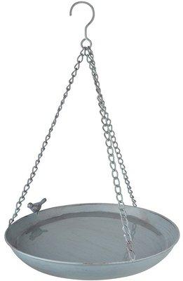 Esschert Design Grey Metal hangend vogelbad