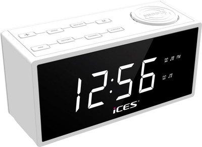 Ices ICR-240 wit wekkerradio