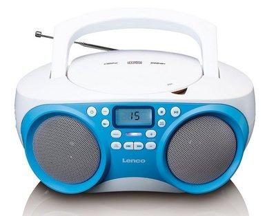 Lenco SCD-301BU draagbare radio