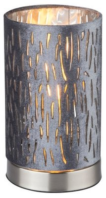 Globo Tuxy silver tafellamp