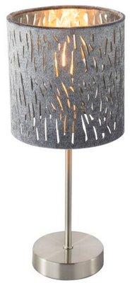 Globo Tuxan silver tafellamp