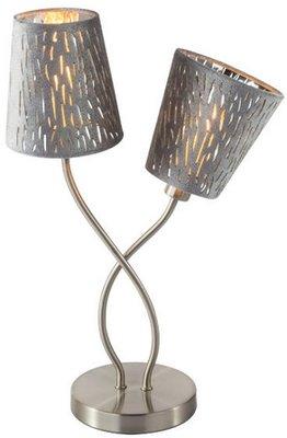 Globo Tuxon silver tafellamp