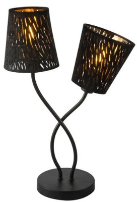 Globo Tuxon black tafellamp