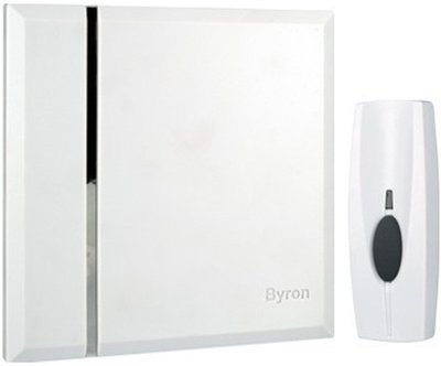 Byron BY401W Wall draadloze deurbel wit