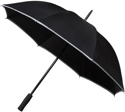 Falcone Reflect golfparaplu zwart