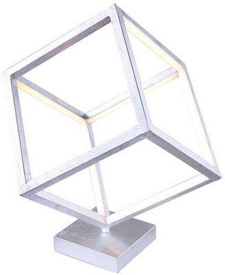Globo Selmy silver tafellamp