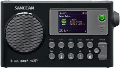 Sangean WFR-27C zwart DAB+ radio