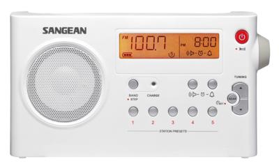 Sangean PR-D7 wit radio