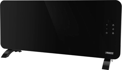 Princess Smart Glass Panel Heater Black 2000 Watt Wi-Fi convectorkachel