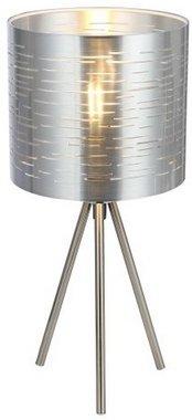 Globo Barca silver tafellamp