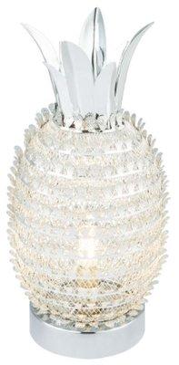 Globo Leslie silver tafellamp