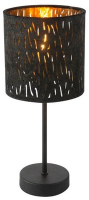Globo Tuxan black tafellamp