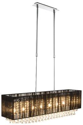 Globo Sierra square black LED hanglamp