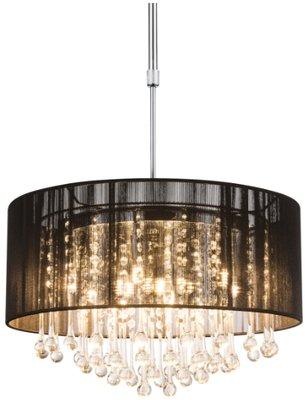 Globo Sierra black LED hanglamp