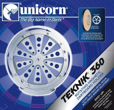 Unicorn Teknik 360 Magnetic dartbordophangsysteem