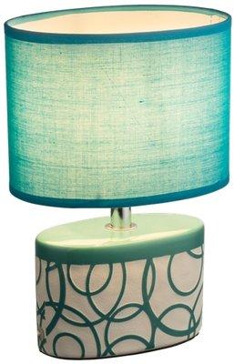 Globo Dukono turquoise tafellamp