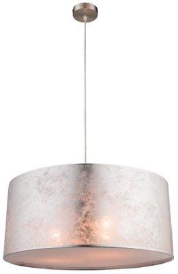 Globo Amy silver medium hanglamp