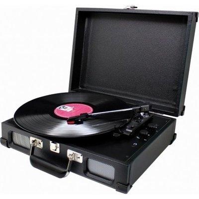 Soundmaster PL580 zwart platenspeler