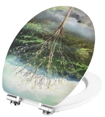 Cornat 4 Seasons 3D decor toiletbril